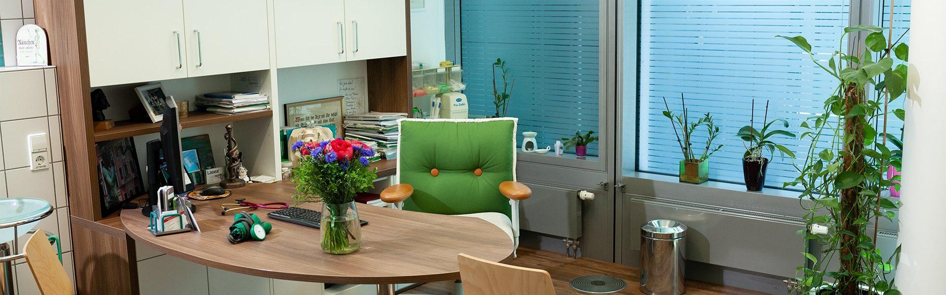 Eines unserer Patientenzimmer